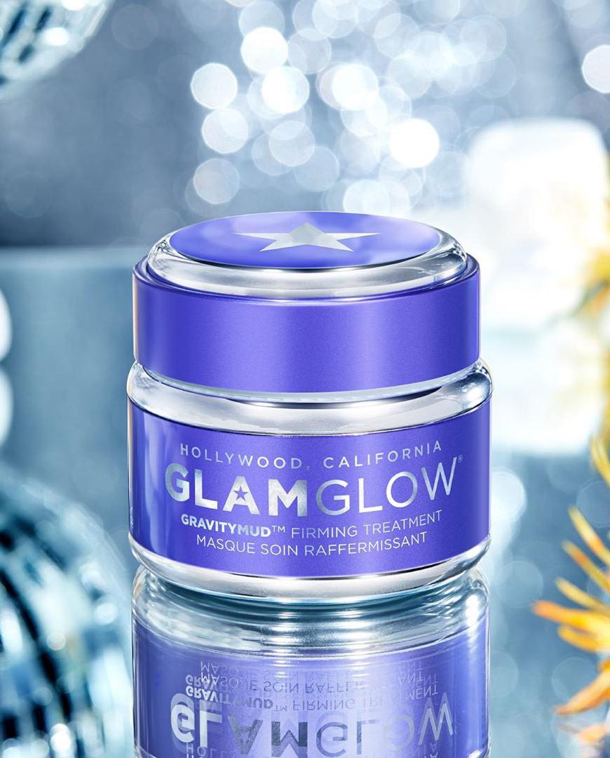 fioletowa maska glamglow