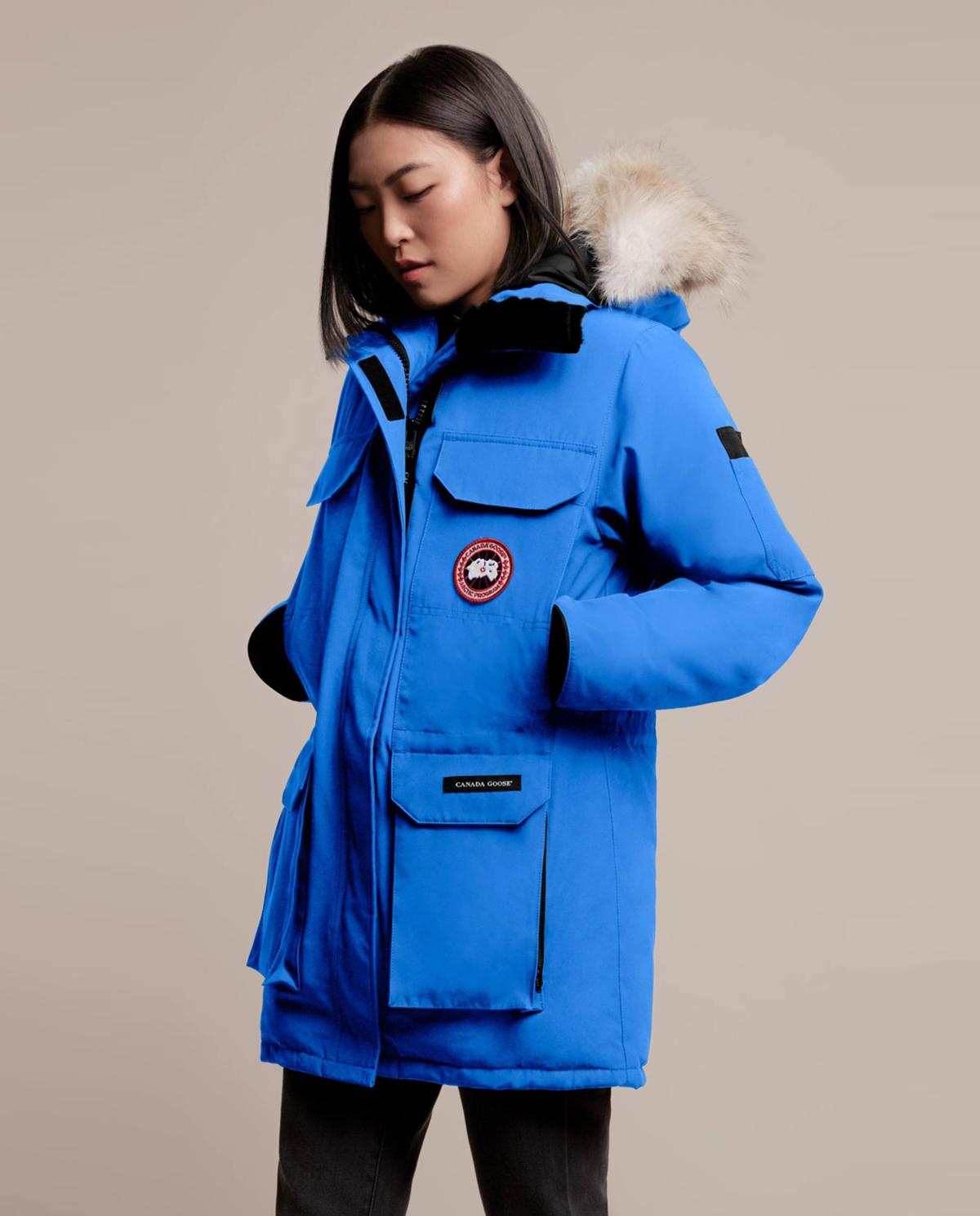 kurtka parka niebieska canada goose