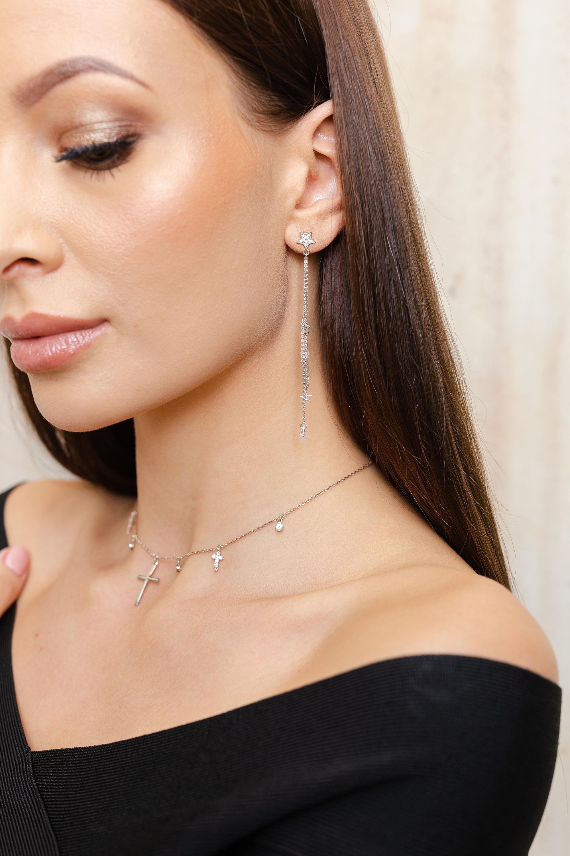 biżuteria modelka sin by mannei