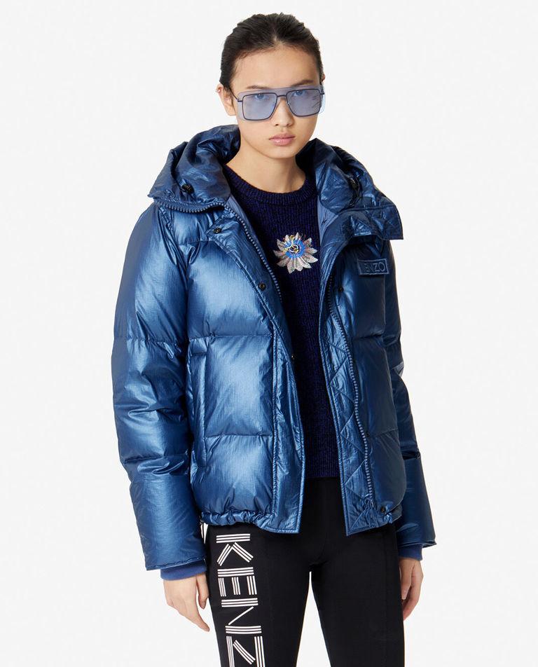 niebieska kurtka puchowa kenzo F962BL074582 76