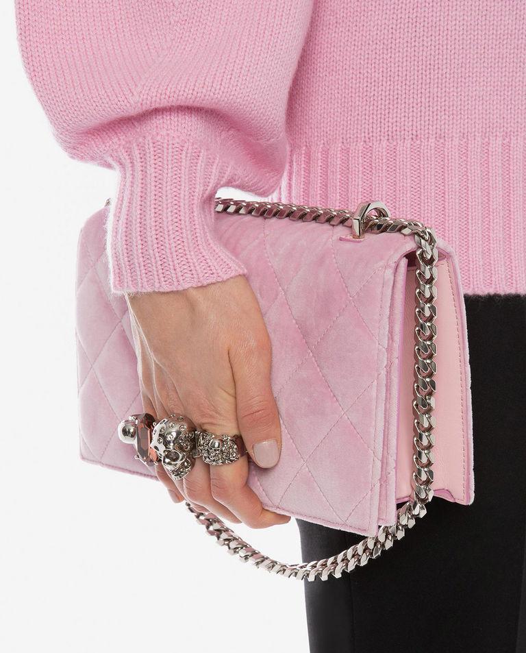 różowa torebka alexander mcqueen 554128 KR4AY 5541