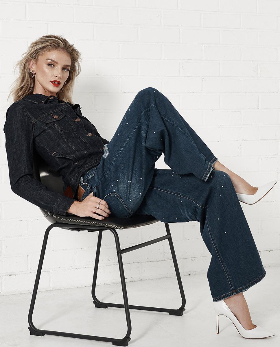 modelka jeansy oneteaspoon