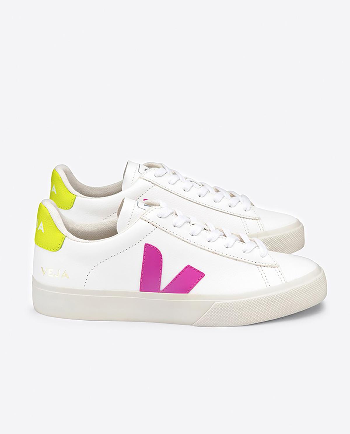 Białe sneakersy Capo Veja CPW052177 WHITE/ULTRAVIOLET