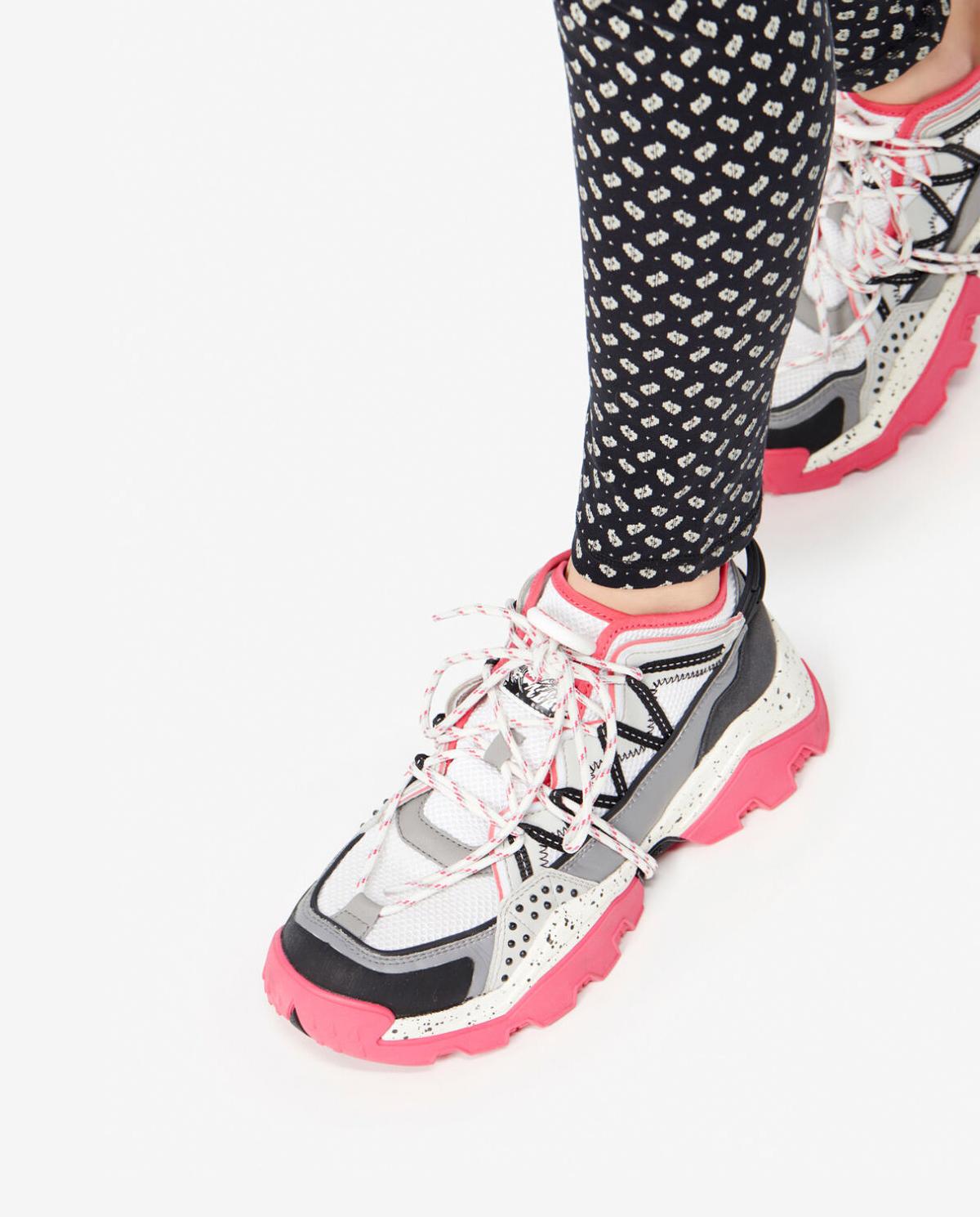 Sneakersy na wysokiej podeszwie Inka Kenzo PFA52SN301F52 27