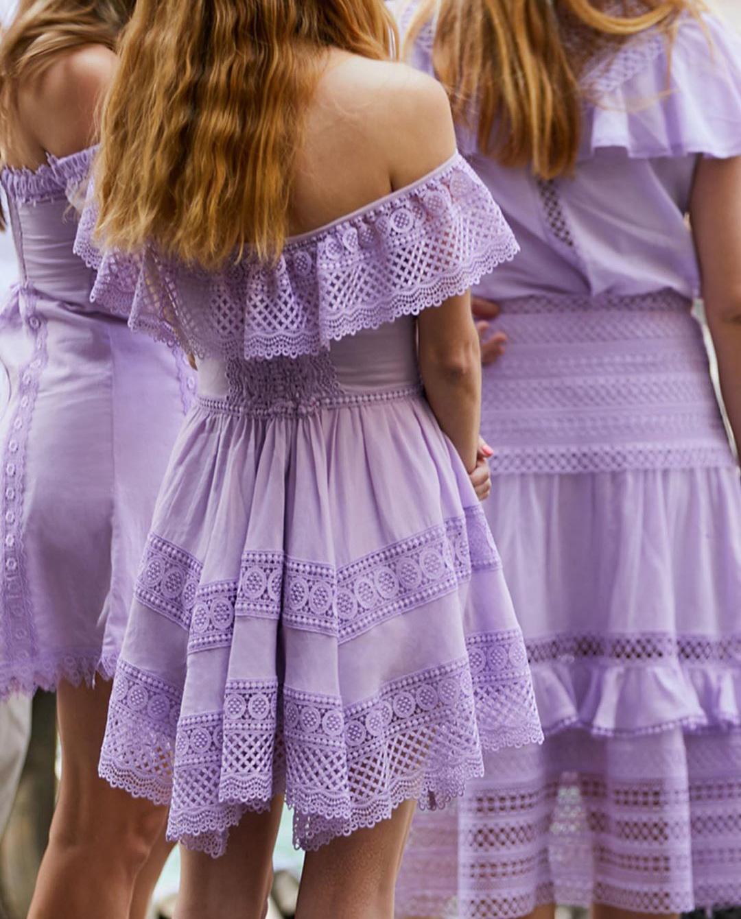 kobiety instagram liliowe sukienki charo ruiz ibiza