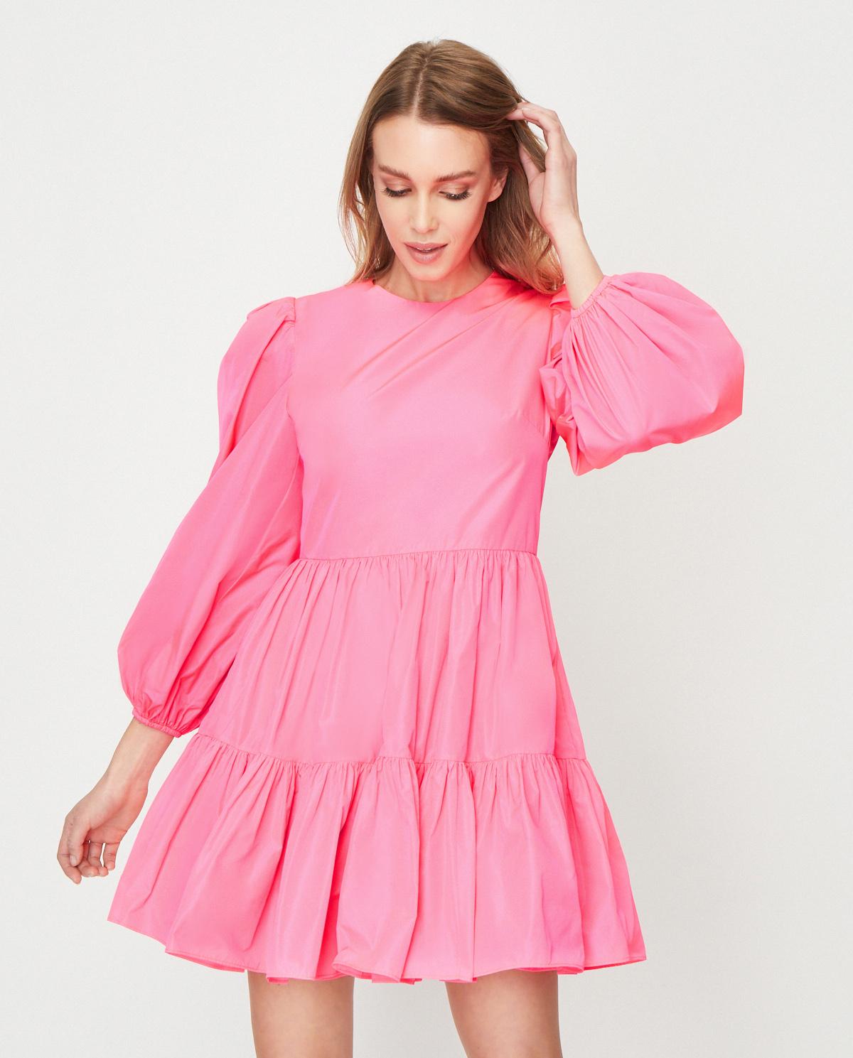 Różowa sukienka mini Valentino TB0VART05CV R87