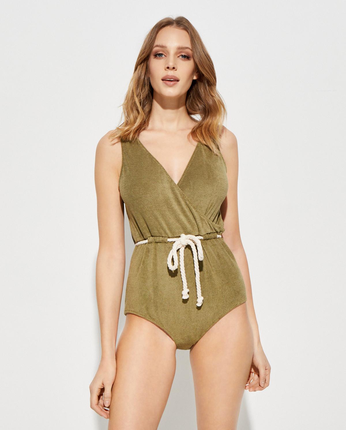 Zielony strój kąpielowy Yasmin Lisa Marie Fernandez 2019RES061 OT