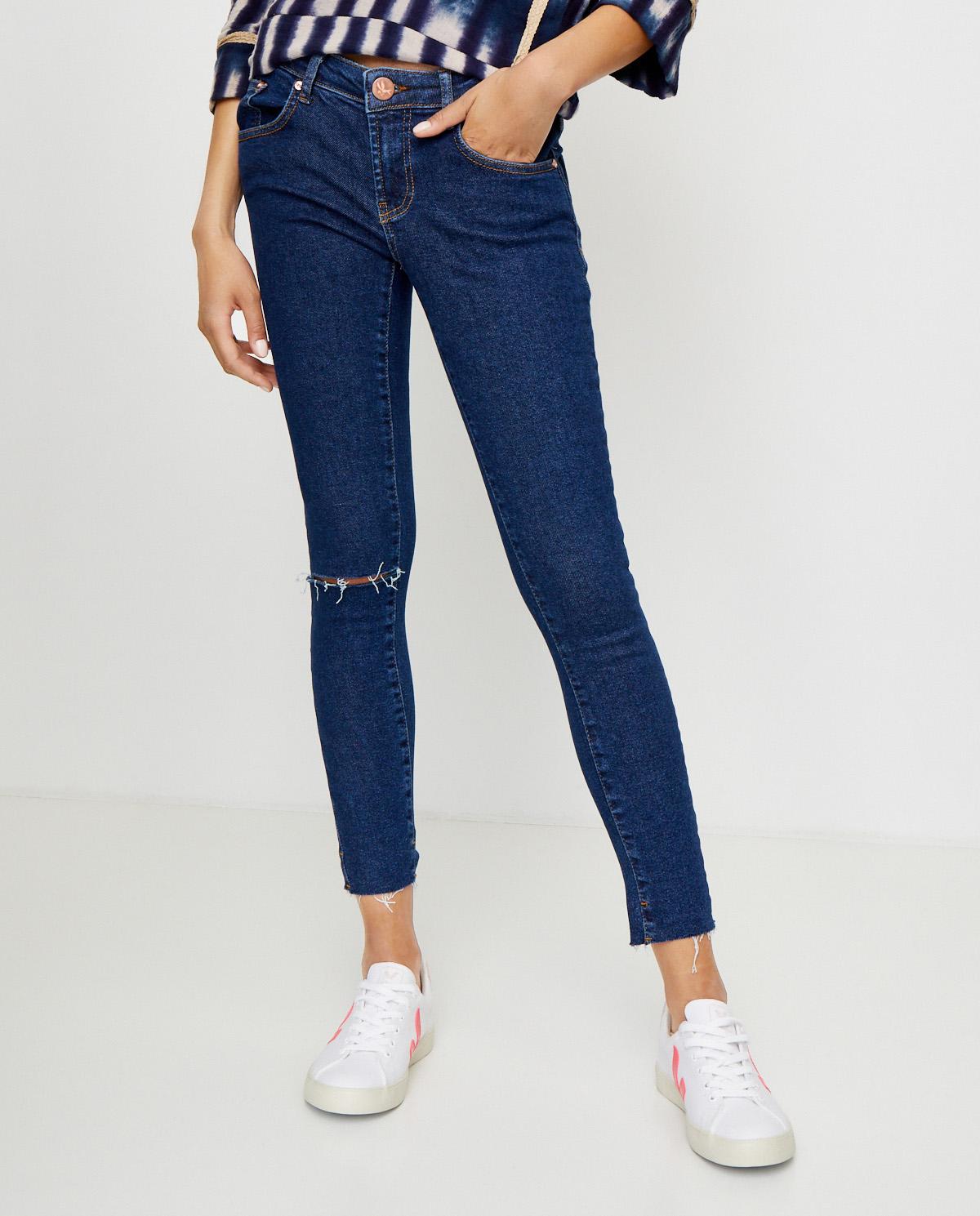 Damskie jeansy Freebirds II ONETEASPOON 22597 MANHAT BL