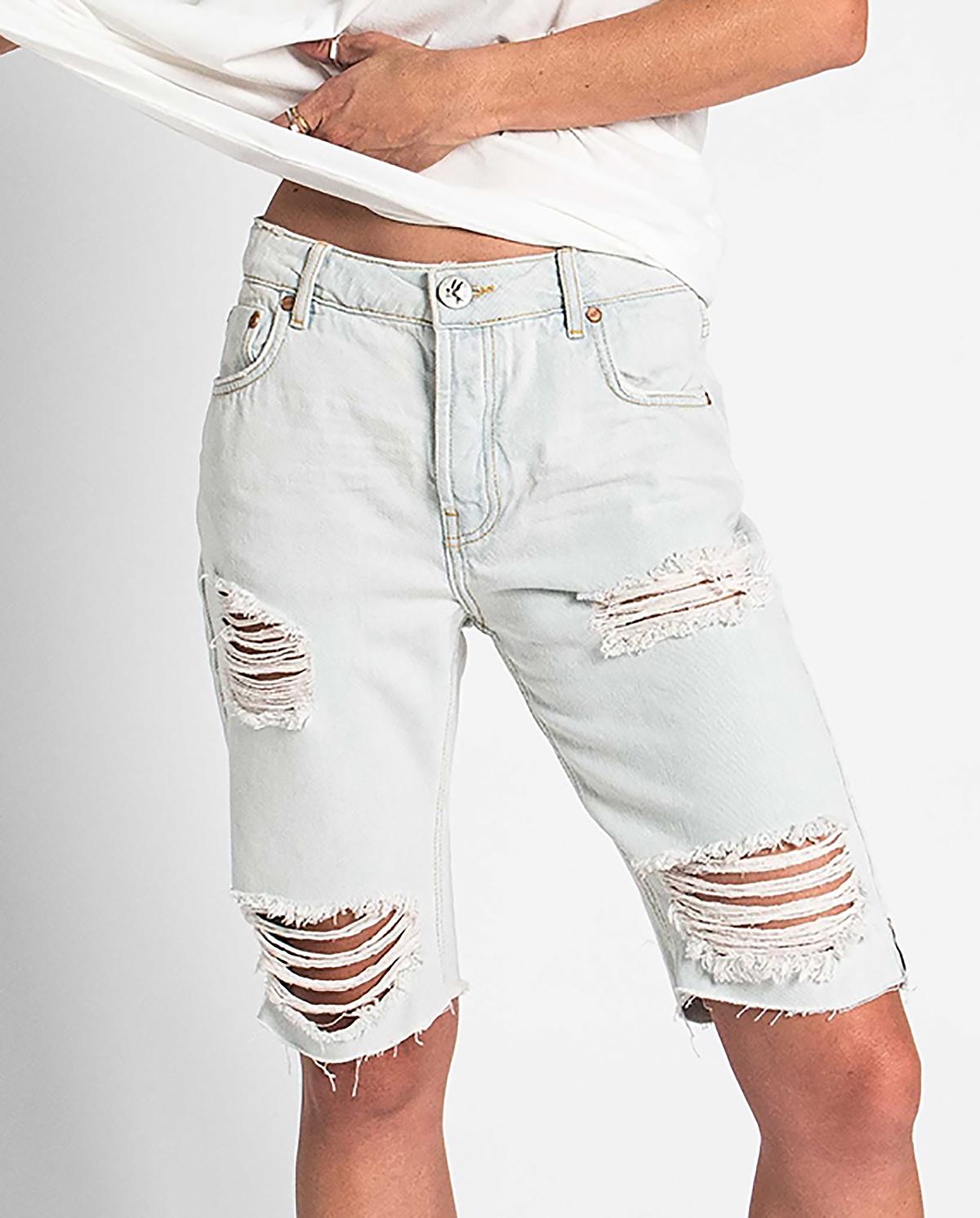 Damskie jeansowe spodenki Brando Truckers oneteaspoon 22928 BRANDO