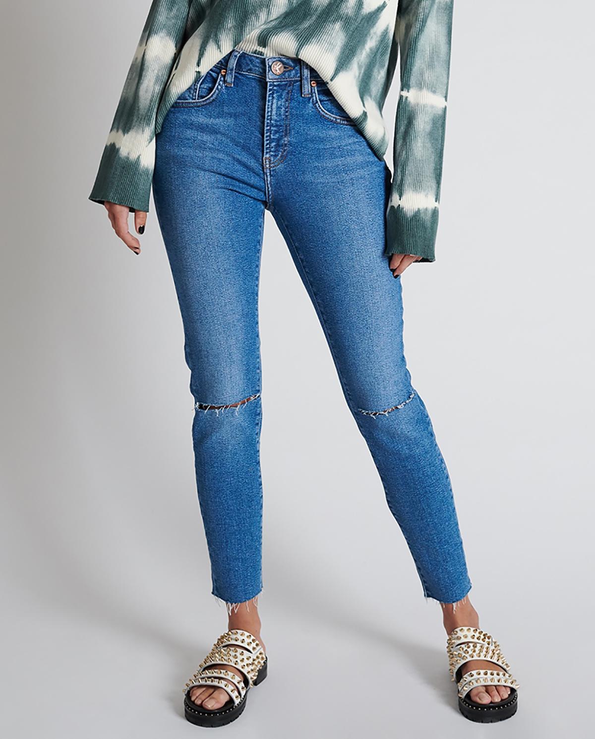 Damskie jeansy Freebirds II oneteaspoon 22598 MIAMI BLUE