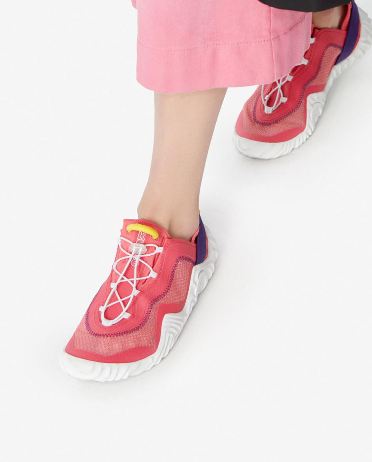 Damskie różowe sneakersy Wave Kenzo PFA52SN004F57 27