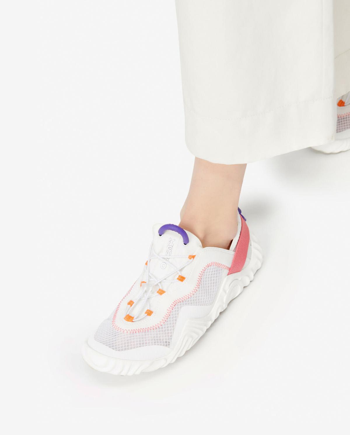 Damskie białe sneakersy Wave Kenzo PFA52SN004F57 01