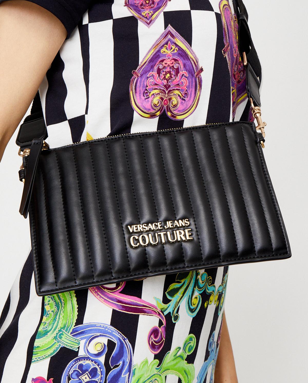 Damska czarna torebka na ramię Versace Jeans E1VVBBQX71418899