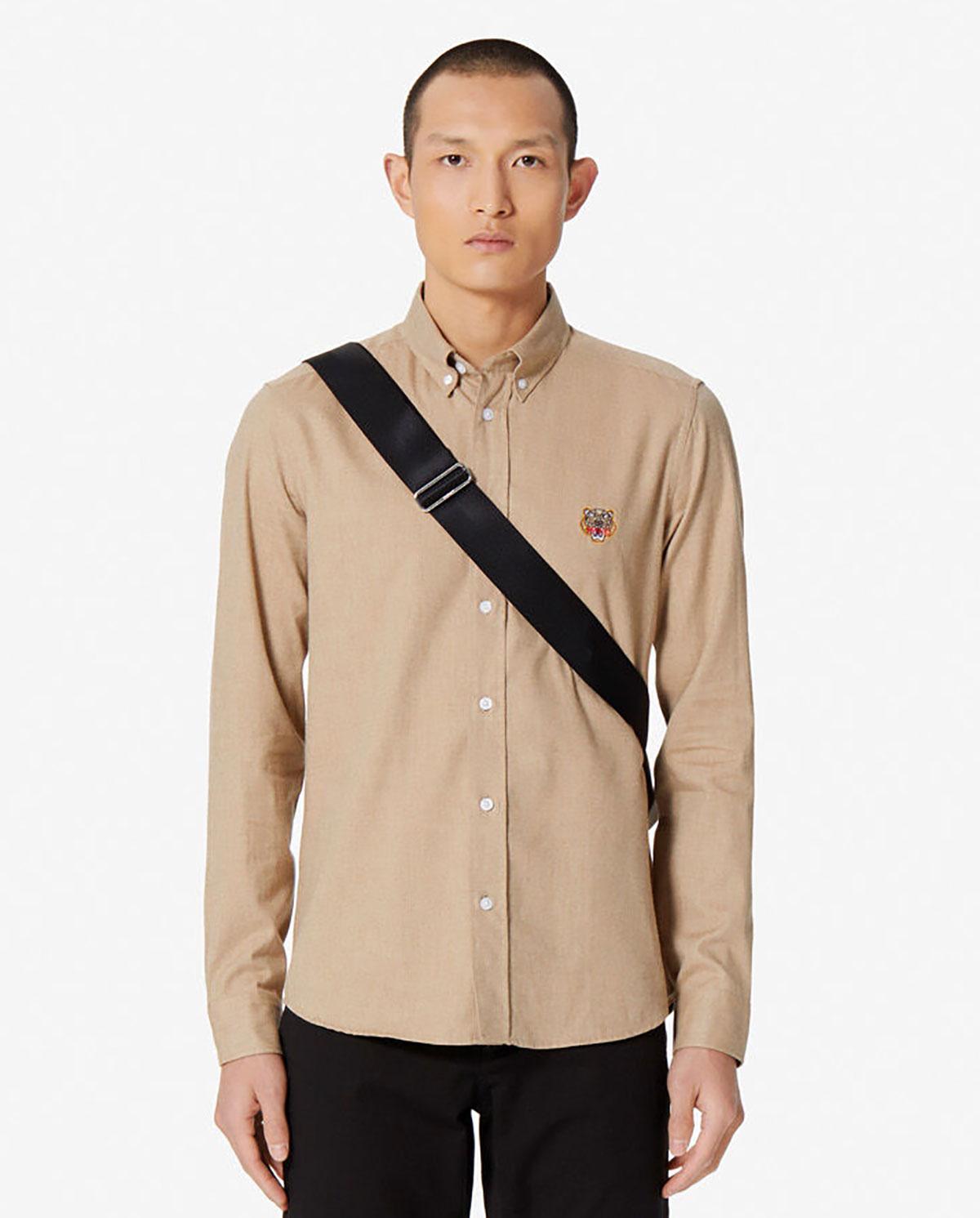Męska koszula z tygrysem Slim-fit Kenzo PF965CH2041GF 12
