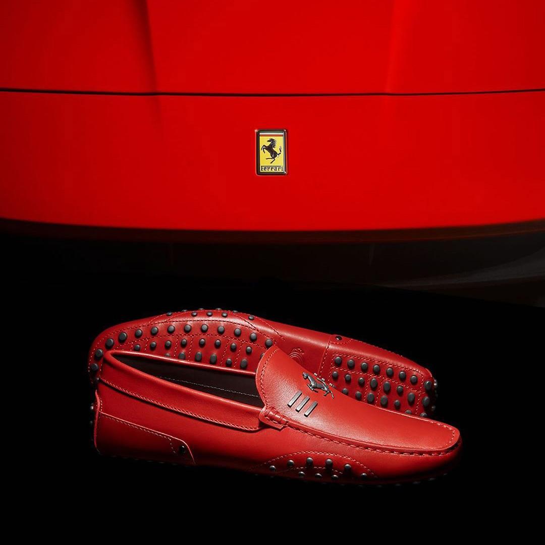 Współpraca Tod's z Ferrari