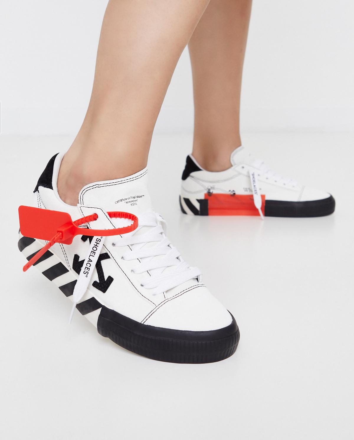 Białe sneakersy ze strzałami Off-white OWIA216E20LEA0010110