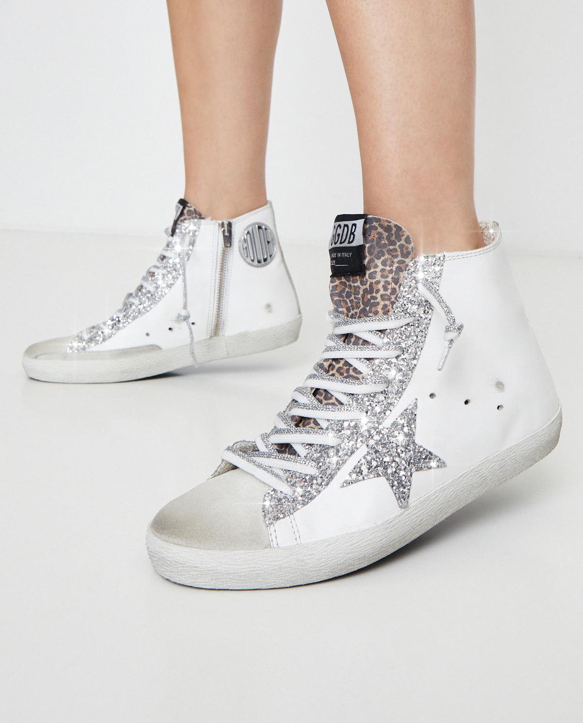Damskie sneakersy za kostkę Francy Golden Goose GWF00113 10299