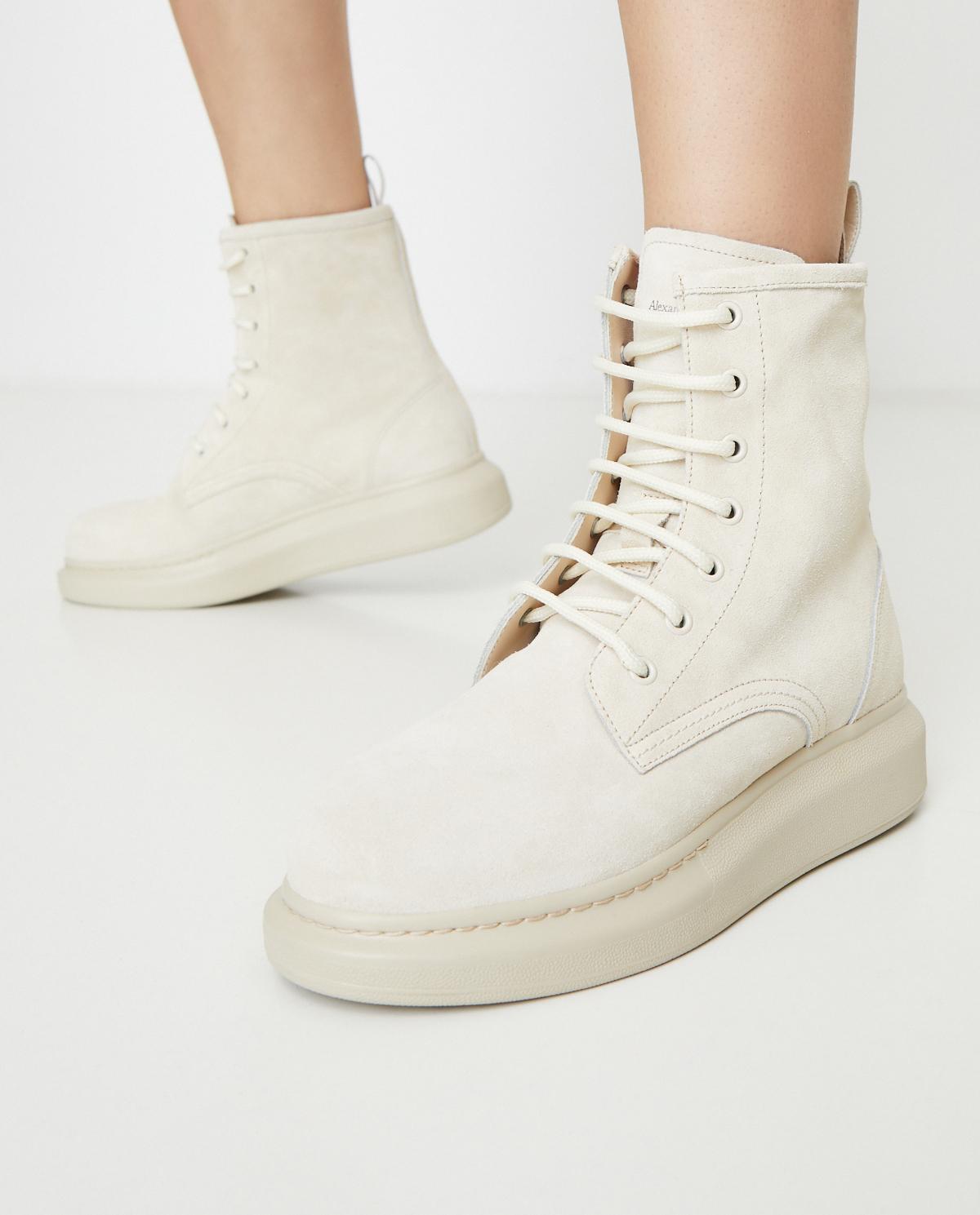 Skórzane buty za kostkę Alexander McQueen 586394 WHXK1 2222