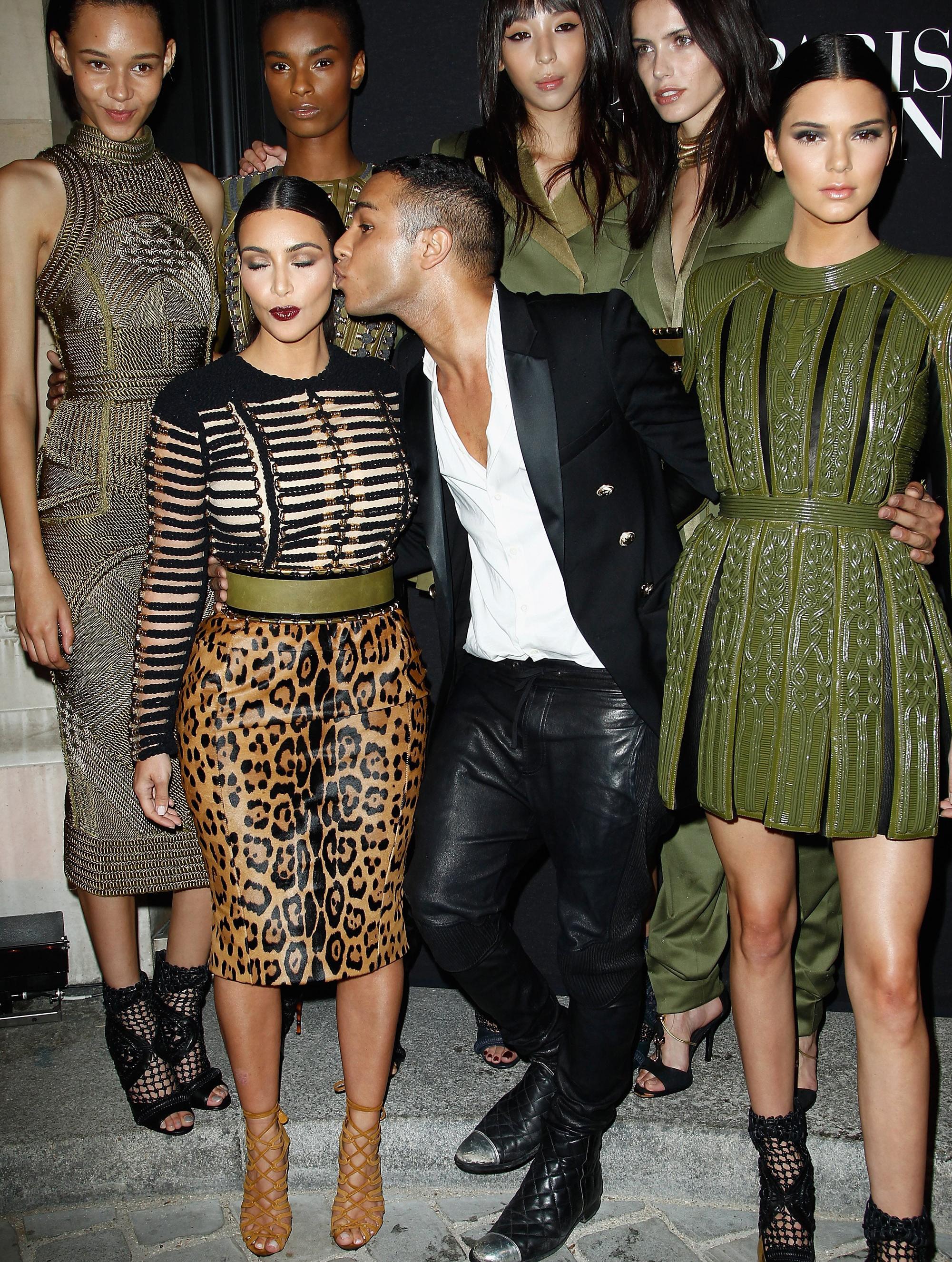 Olivier Rousteing Kim Kardashian