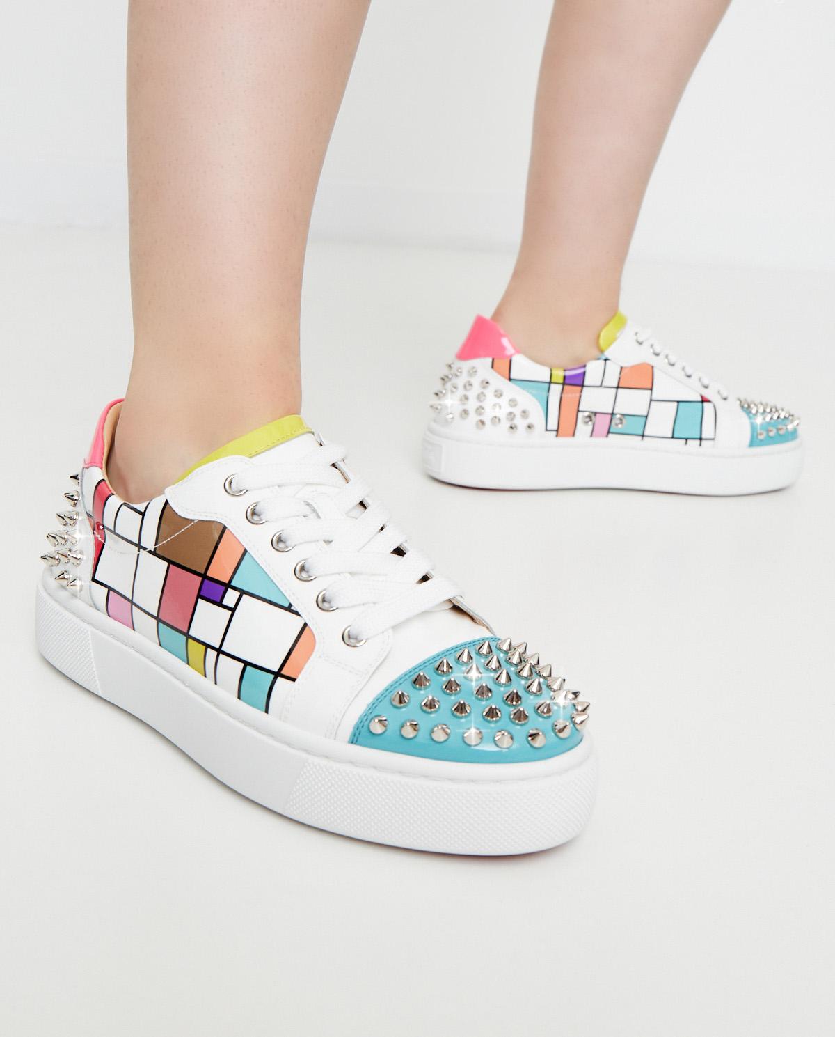 Kolorowe sneakersy Vieirissima 2 Christian Louboutin 3200158 VIEIRISSIMA 2 CMA3