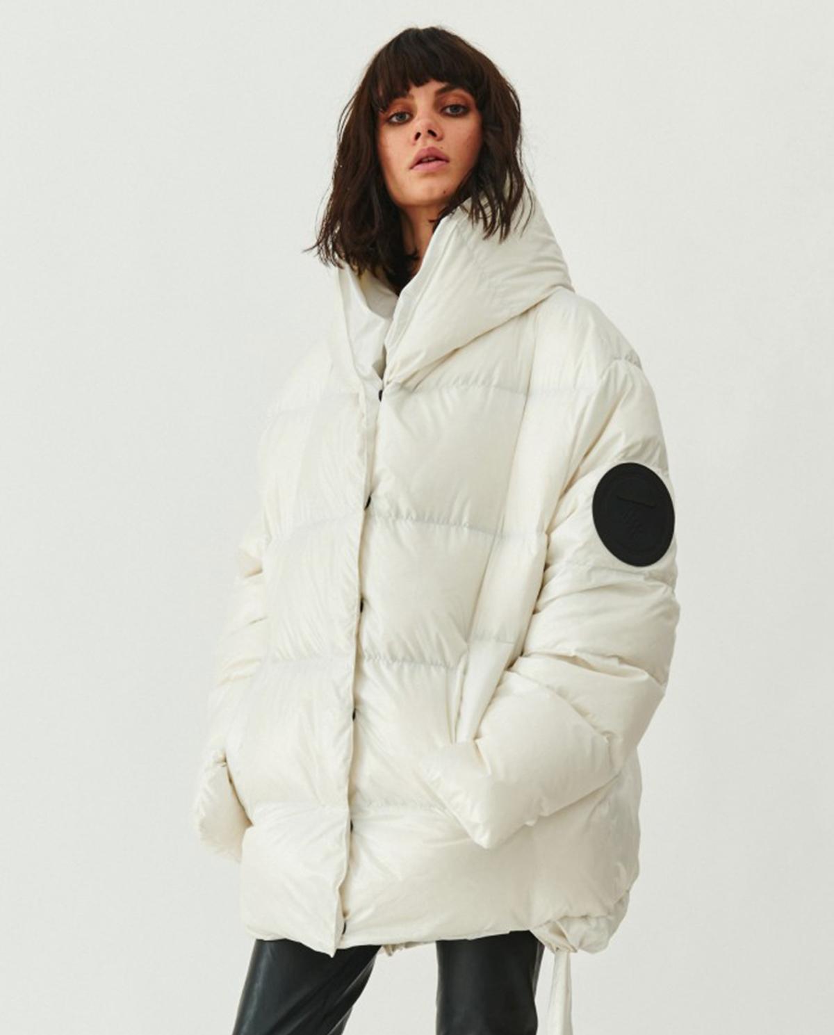 Biała kurtka pikowana Jesso MMC Studio JESSOJACKET WHITE ONE SIZE