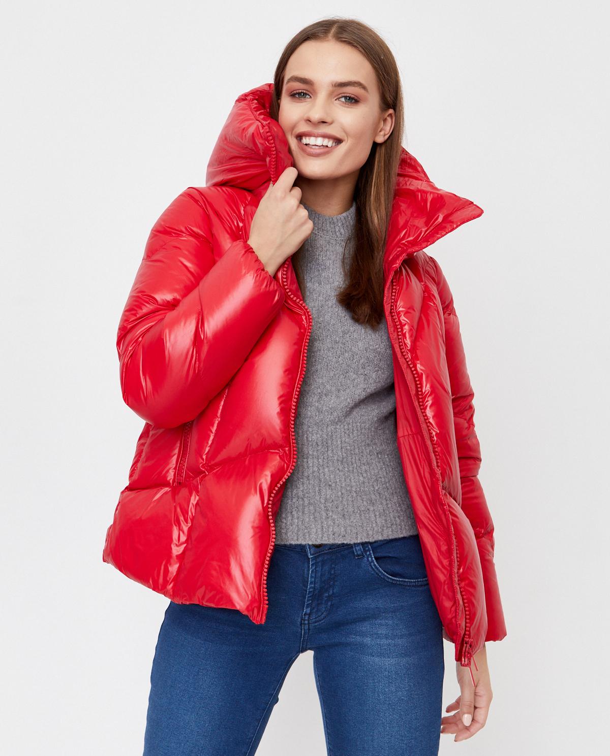 Czerwona kurtka puchowa Honey Hetrego 8I703 RED