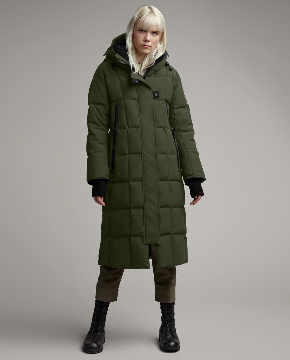 Zielony płaszcz Elmwood Canada Goose 3815L 49