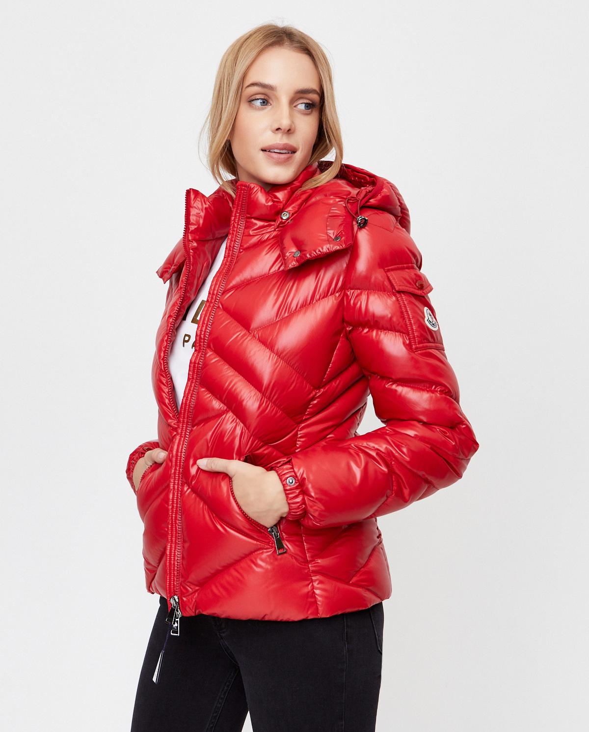 Czerwona kurtka Desirade Moncler F2-093-1A591-00-C0064 457