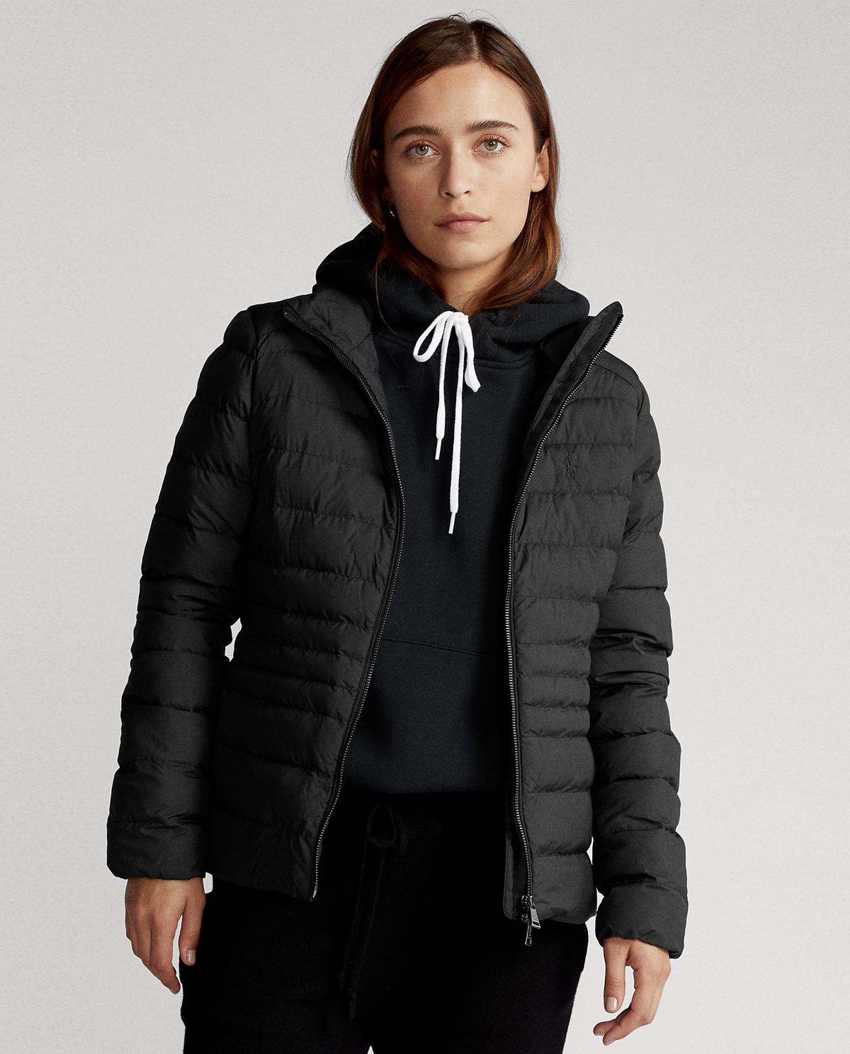 Czarna kurtka puchowa Polo Ralph Lauren 211798841001
