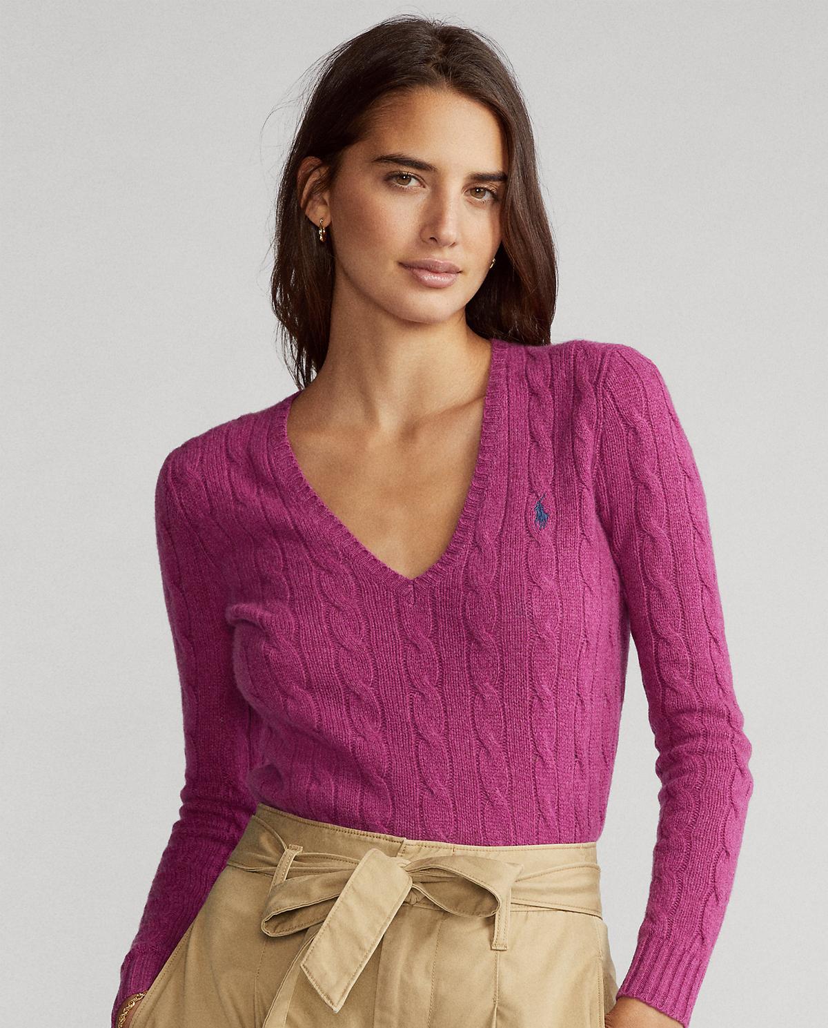 Sweter z wełny i kaszmiru Polo Ralph Lauren 211508656070