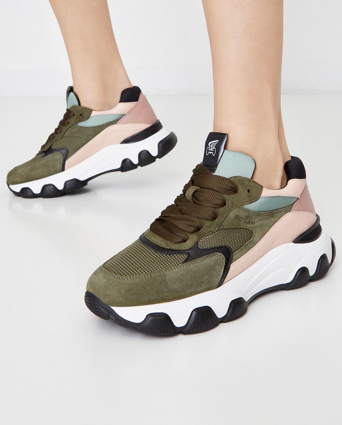 Kolorowe sneakersy Hyperactive Hogan HXW5400DG60OOA0PUE
