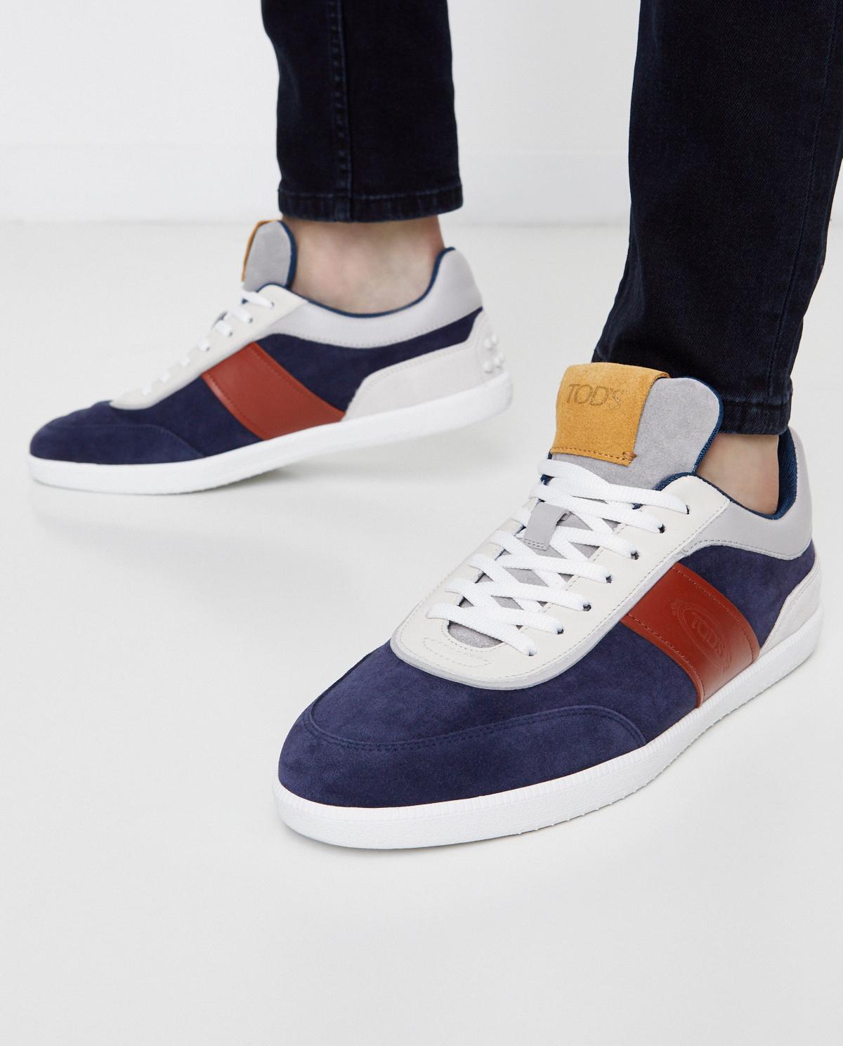 Kolorowe sneakersy z logo Tod's XXM68C0DP30IRA0XNC
