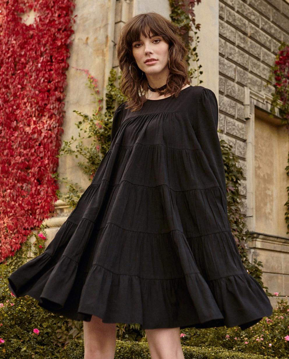 czarna sukienka twiggy by cabo TWIGGY BLACK