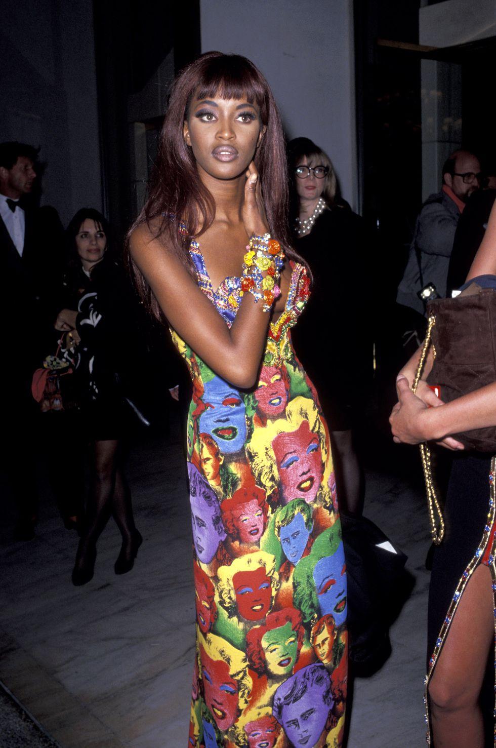 Naomi Campbell 1991 Versace