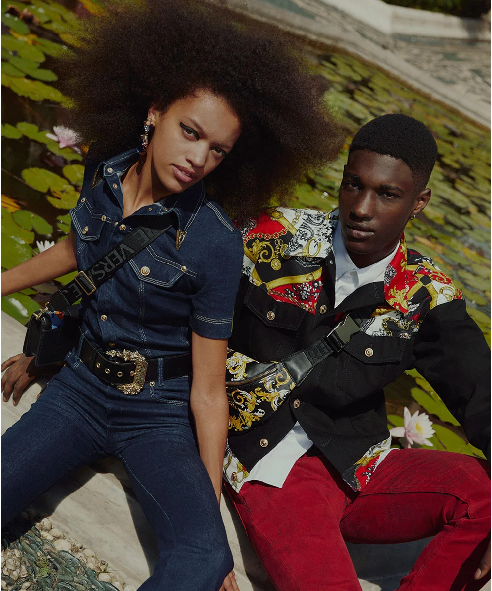 Kampania Versace Jeans Couture FW20