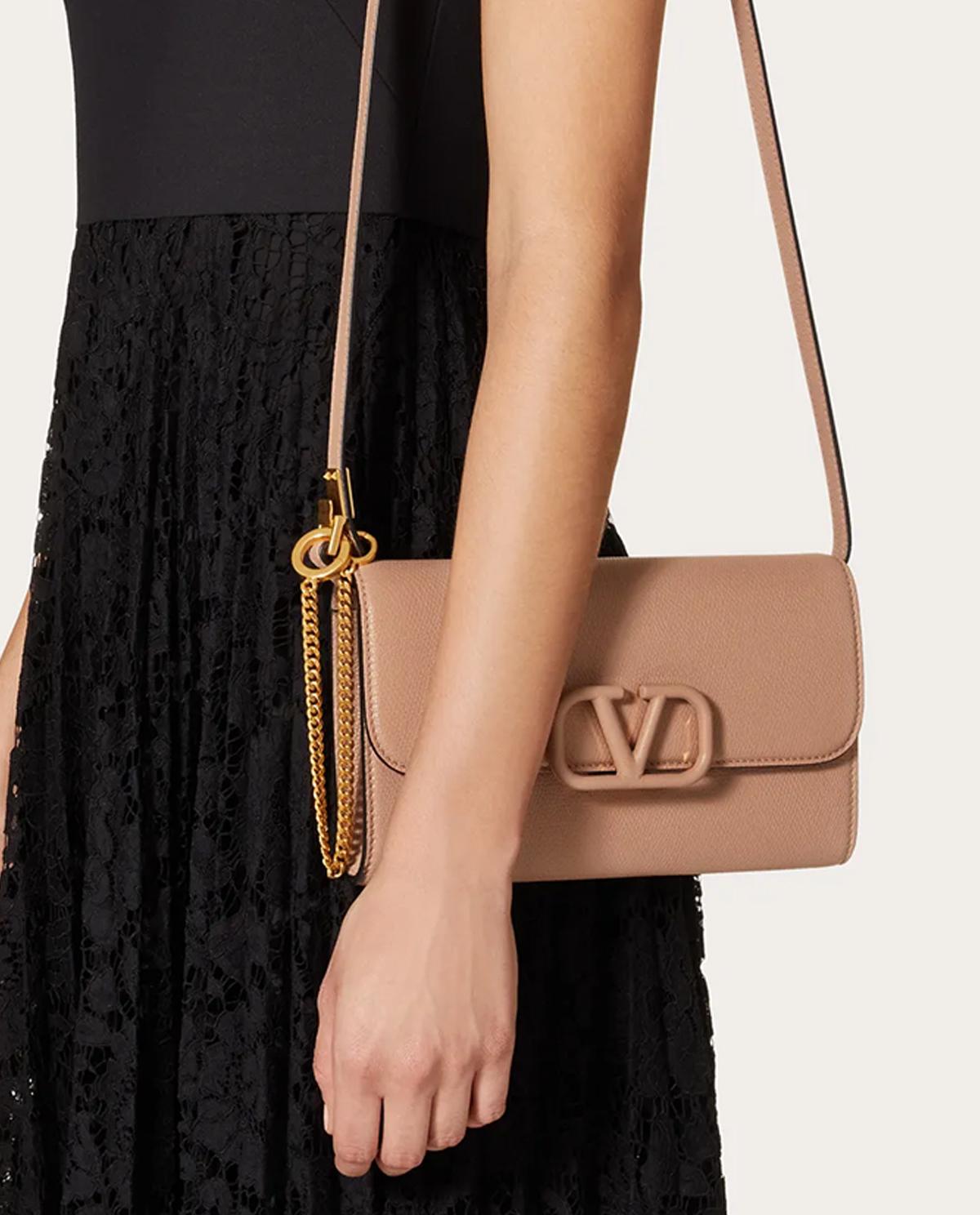 Skórzana torebka Vsling Valentino UW2B0H28RQR GF9