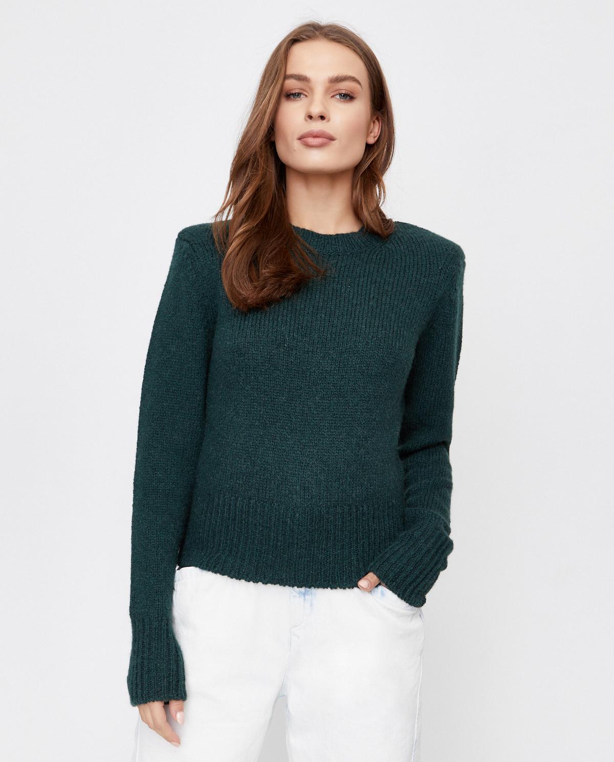 Zielony sweter z wełny Isabel Marant PU1474-20H004I 67DG
