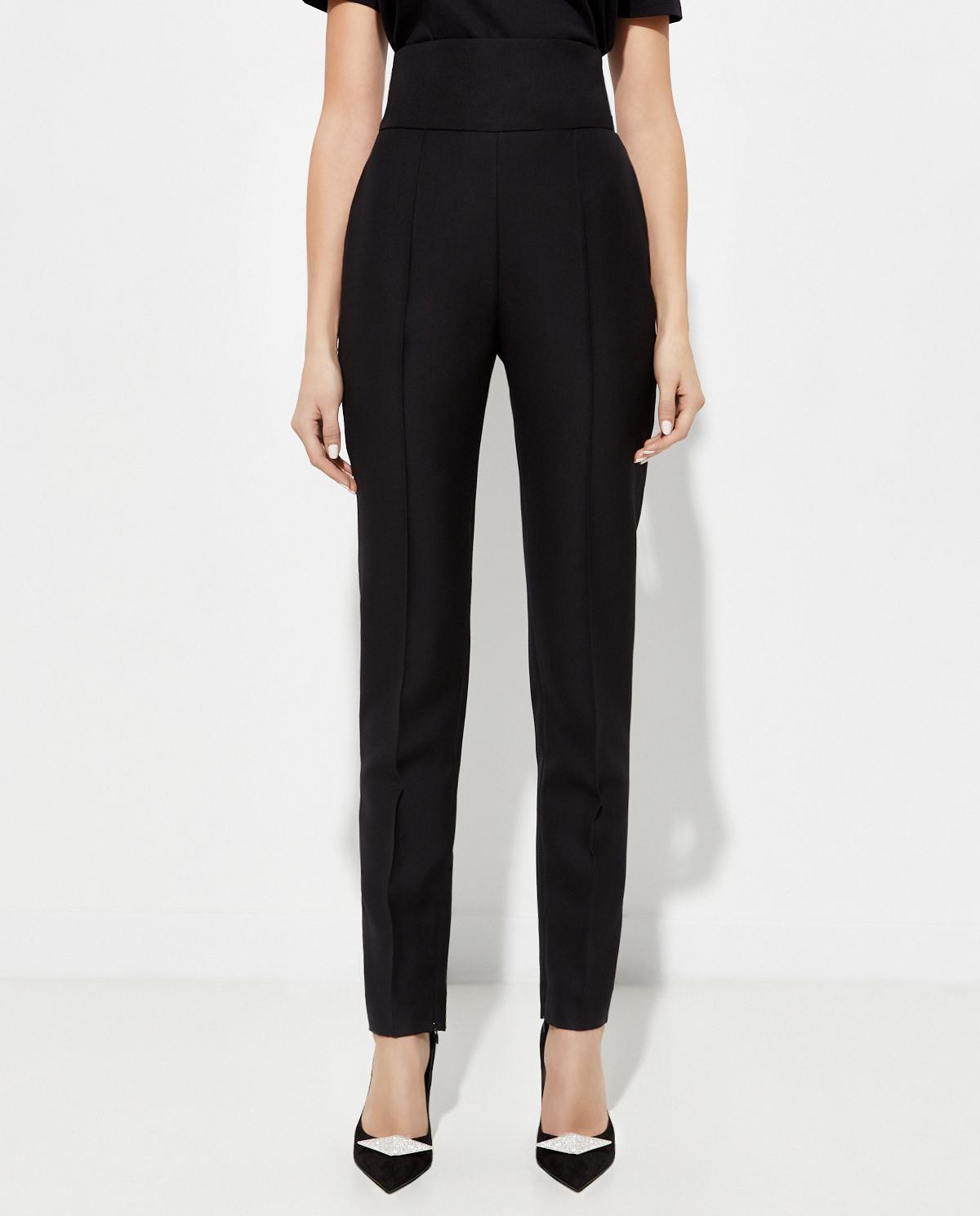Czarne spodnie z wysokim stanem Alexandre Vauthier 204PA900 0193-1106 BLACK