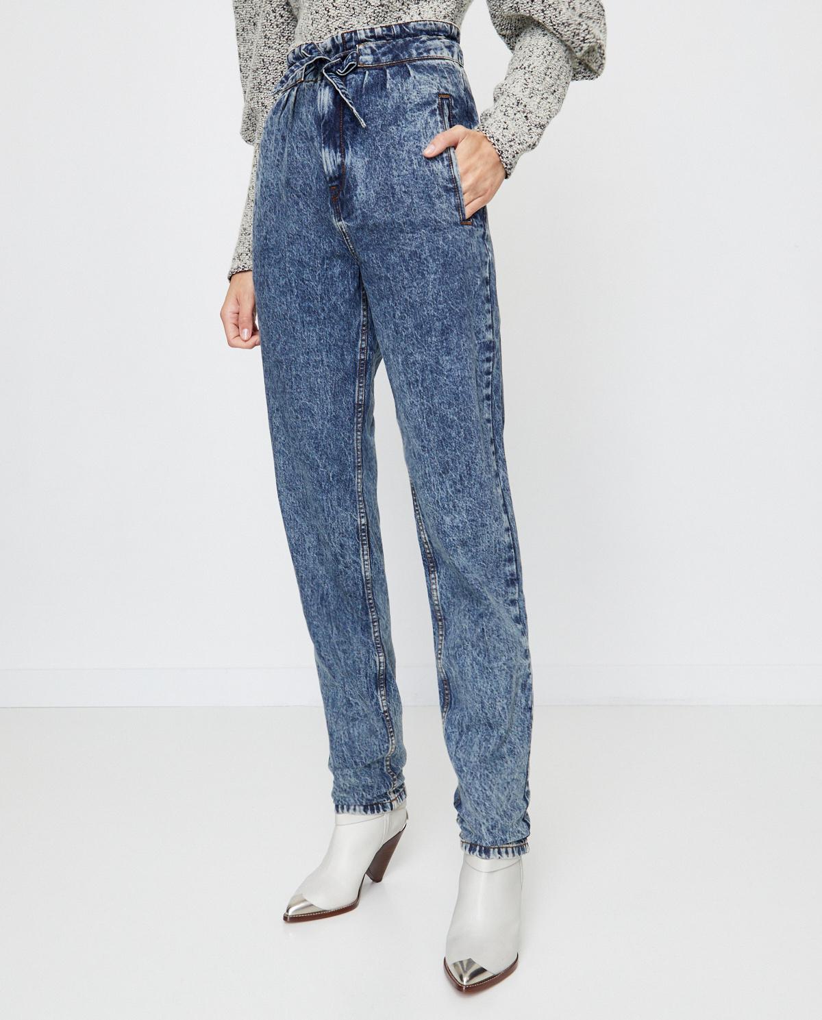 Niebieskie jeansy Isabel Marant PA1757-20A021I 30BU