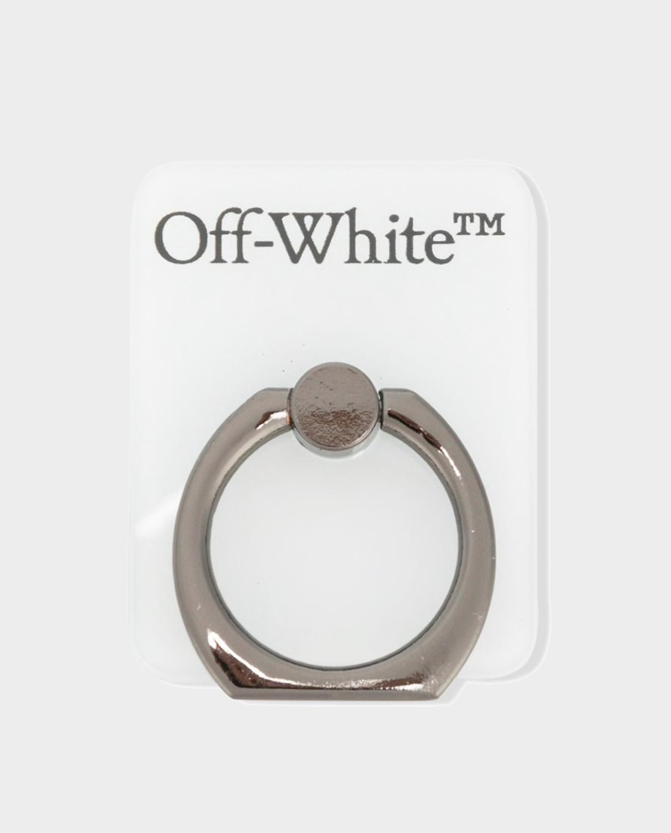 Uchwyt do telefonu ring off-white