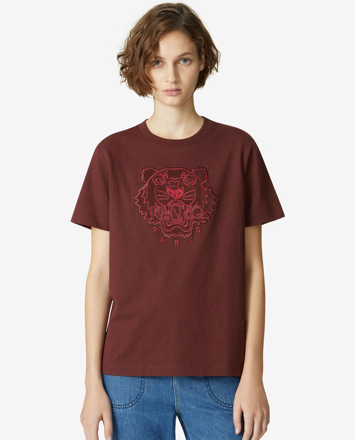 Luźny t-shirt z tygrysem Kenzo PFA62TS9124YI 23