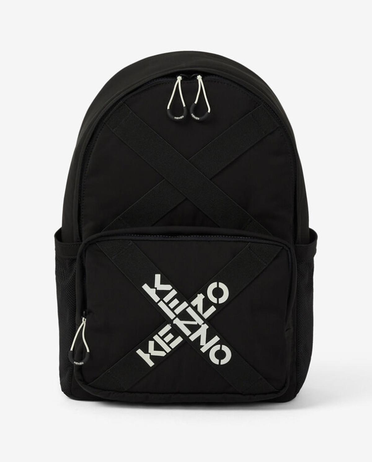 Czarny plecak z logo Kenzo PFA65SA213F21 99
