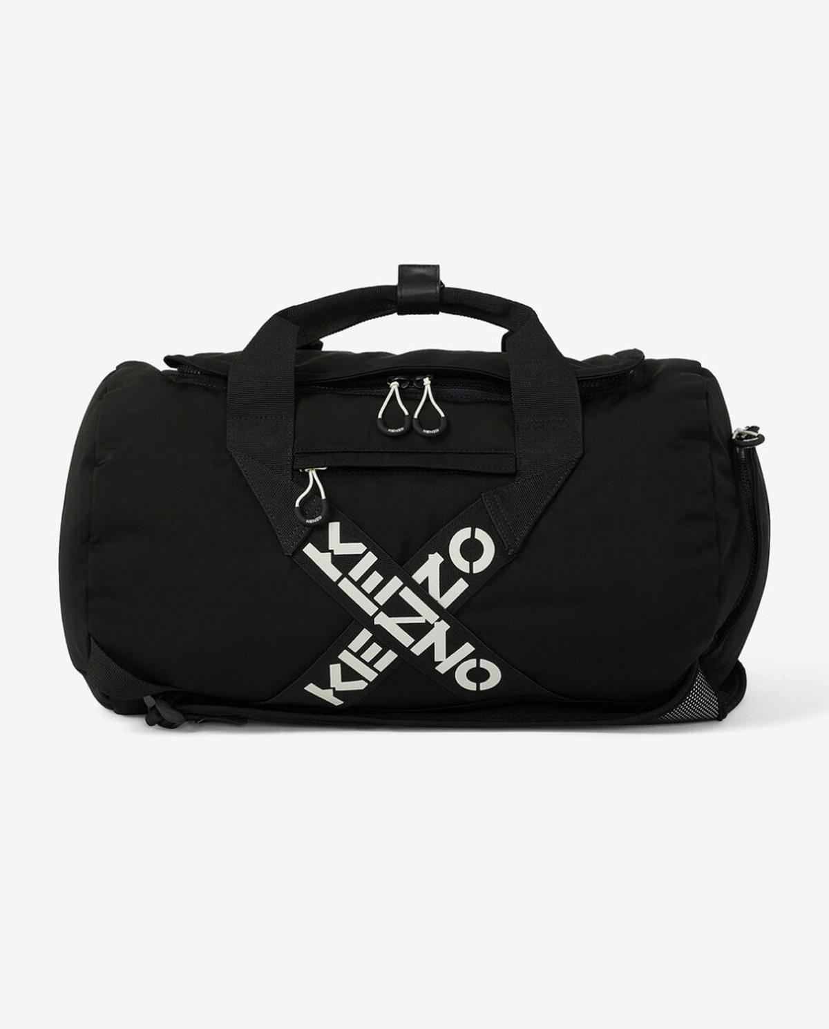 Czarna torba sportowa Kenzo PFA65SA210F21 99