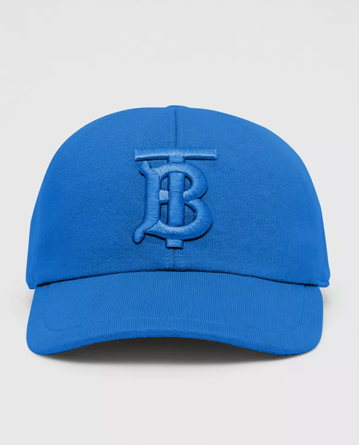 Niebieska czapka z monogramem Burberry M8031020 A4778